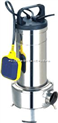 WQ7-7-0.55KW不锈钢无堵塞排污泵