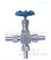 J19W/H压力表三通针型阀/J26W外螺纹针型阀