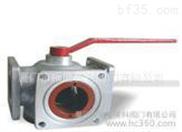 上海美科 QF四位三通球阀 厂家批发 不锈钢安全阀