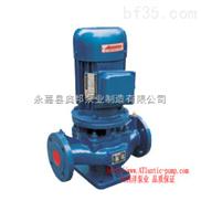ISG40-125-ISG立式管道离心泵,不锈钢管道离心泵,奥邦离心泵
