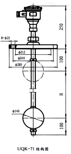二个干簧管液位控制接线图