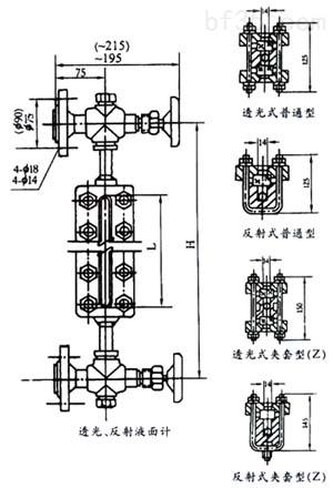 供应焊接式玻璃板液位计 _水泵_消防泵_产品库_中国