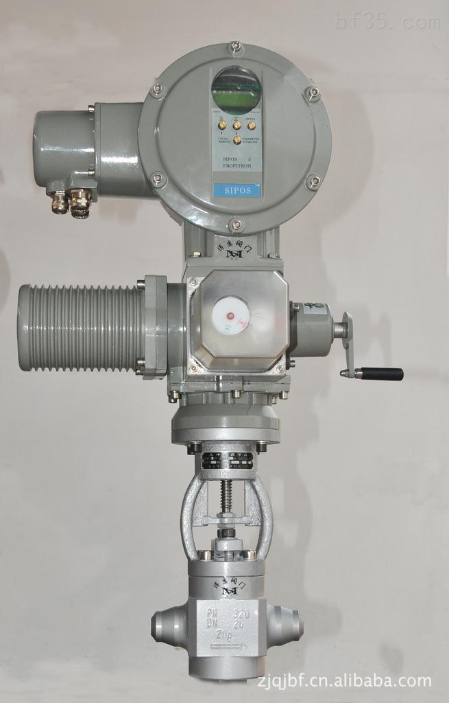 电动锅炉给水调节阀/气动锅炉给水调节阀 温州出厂价格图片