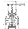先導活塞蒸汽減壓閥,Y65H手動蒸汽減壓閥,手動杠杠式蒸汽調節閥