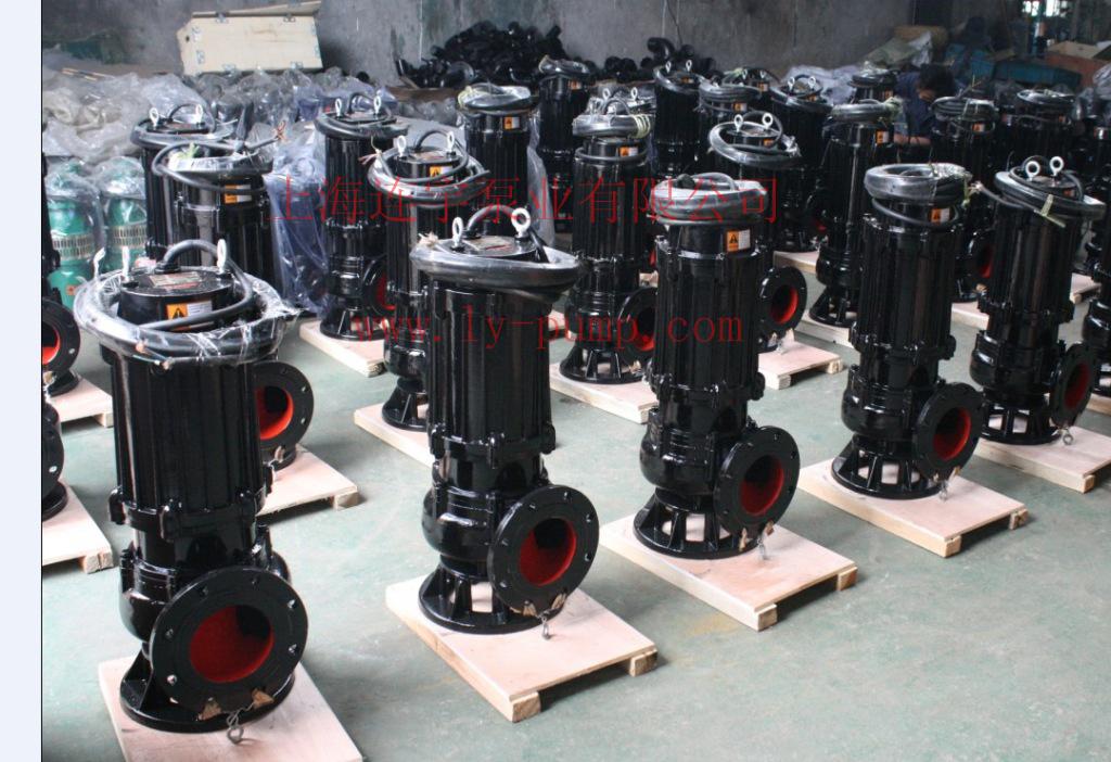 1. 介质不超过60,比重在1.0~1.3之间。 2. 无内自流循环冷却系统的泵,电机部分露出液面不得超过1/3。 3. 铸铁材质的使用范围为PH值5~9之间。 4. 可根据不同的腐蚀性介质选择不同的不锈钢材质。 三、型号解析: 50WQ(QW)10-10-1.5 50--泵排除口公称直径mm WQ--固定式潜水排污泵(带耦合装置) QW--移动式潜水排污泵 10--流量(立方米每小时) 10--扬程 米 1.