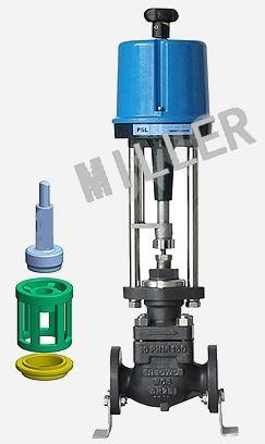 米勒进口电动调节阀主要有:进口电动单座调节阀