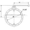 供應★STF-I圓形手動風量調節閥-冶金閥門